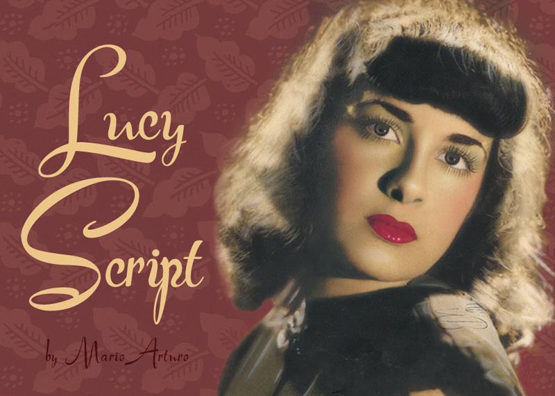 Lucy Script Font