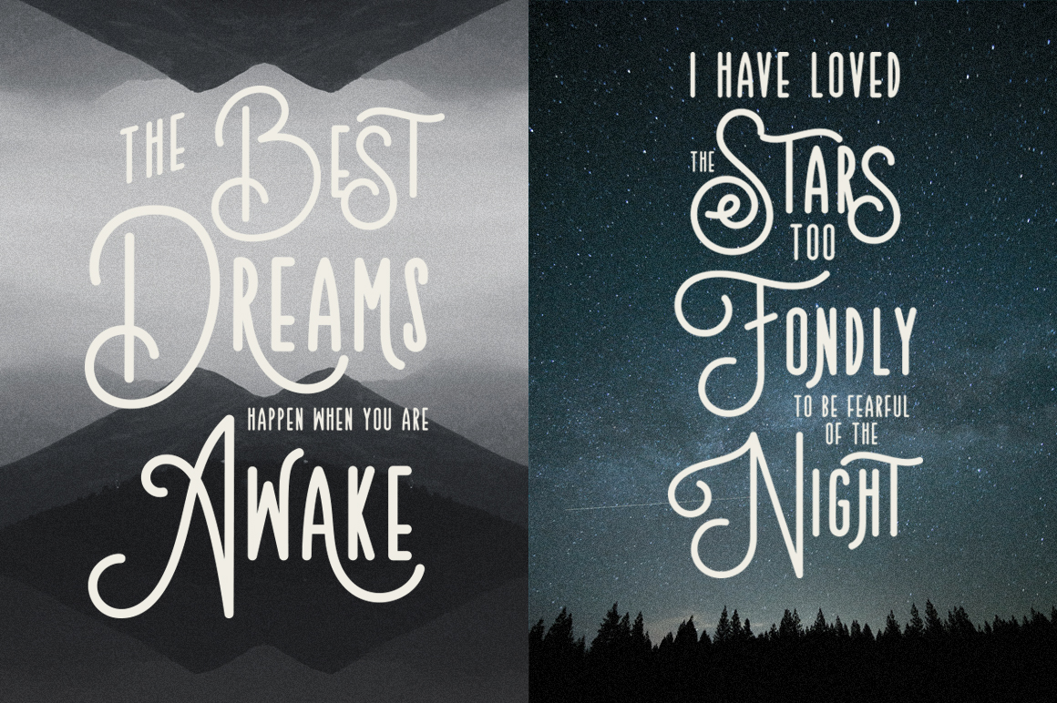 Teaters Typeface