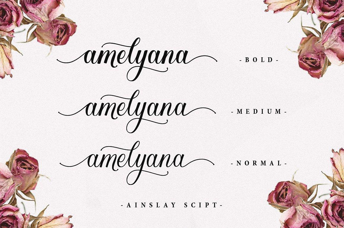 Ainslay Script Font