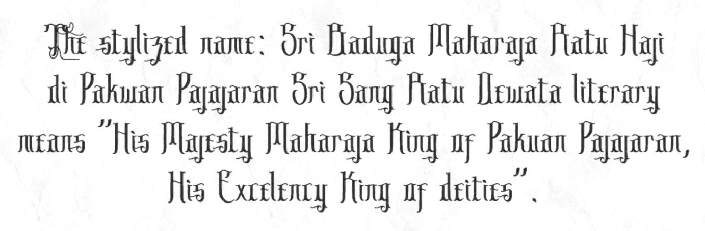 Sribaduga Font