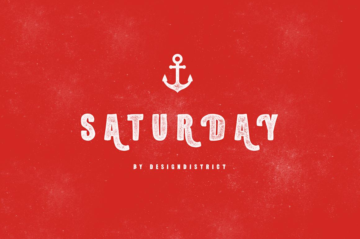Saturday Typeface