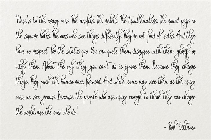 Emryt Handwritten Font