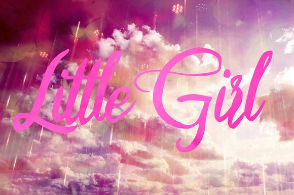 Little Girl Script Font