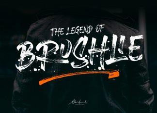 Brushlie Brush Font