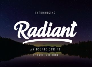 Radiant Bold Script Font