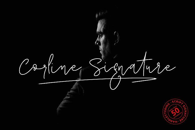 Corline Signature Font - Demofont com