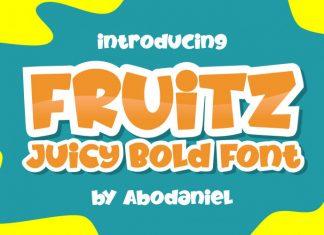 Fruitz Juicy Font