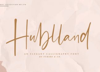 Hublland Font
