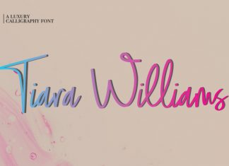 Tiara Williams Font