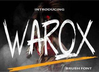 Warox Brush Font