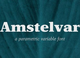 Amstelvar Font Family
