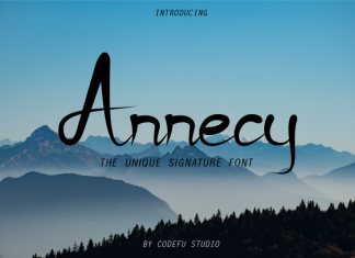 Annecy Font