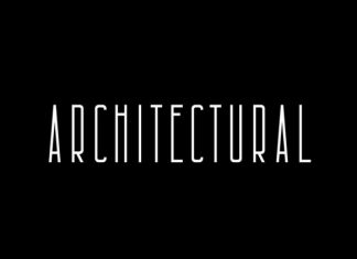 Architectural Font