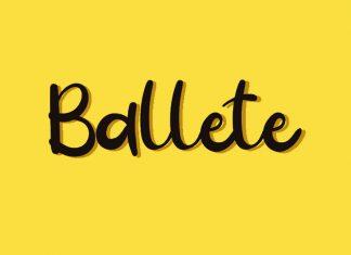 Ballete Font