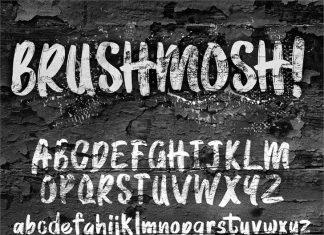 BRUSHMOSH Font