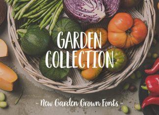 Garden Collection Font