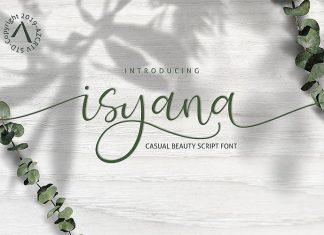 Isyana Font