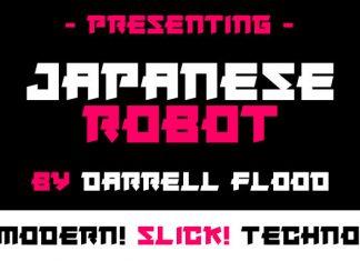 Japanese Robot Font