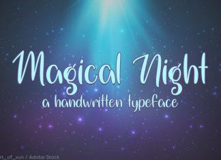 Magical Night Font