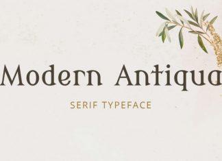 Modern Antiqua Font