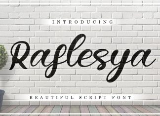Raflesya Font