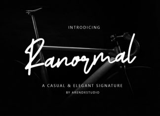 Ranormal Font
