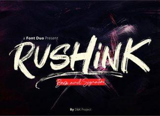 Rushink Font