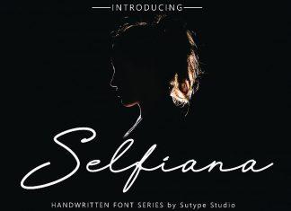 Selfiana Font