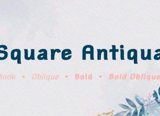 Square Antiqua Font