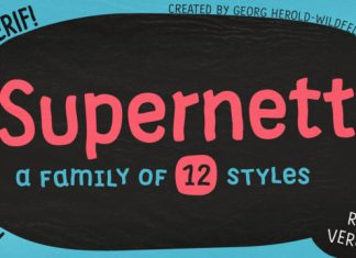 Supernett Font