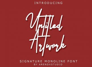 Untitled Artwork Font