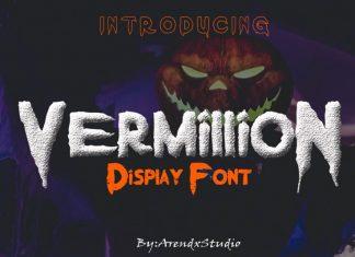 Vermillion Stamp Font
