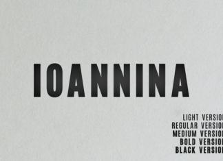 Ioannina Family Font