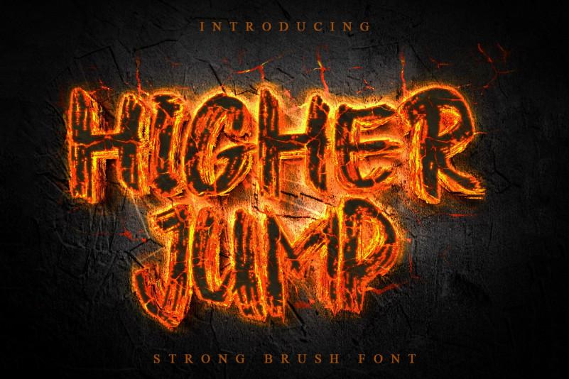Higher Jump Font