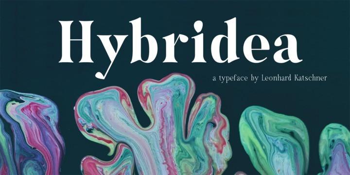 Hybridea Font