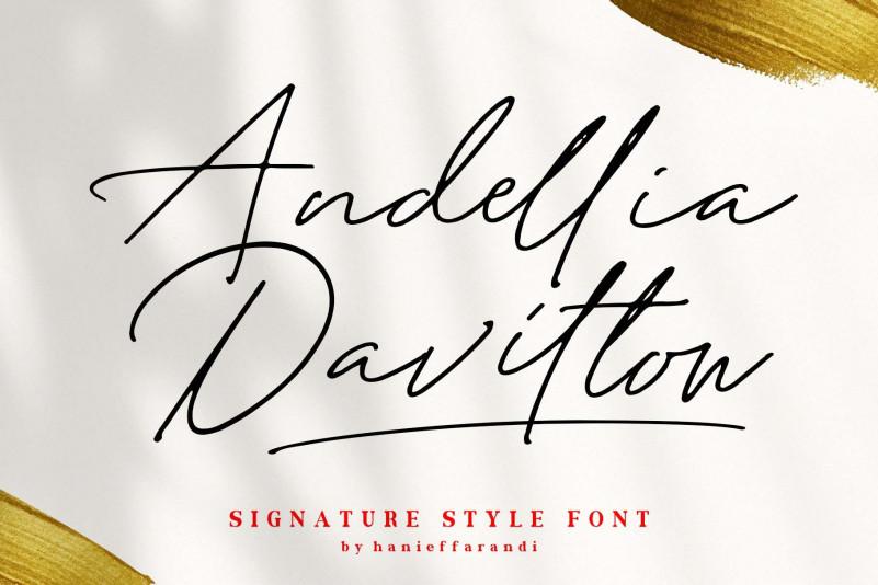 Andellia Davilton Font