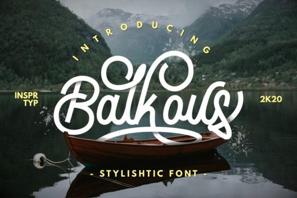Balcous Font