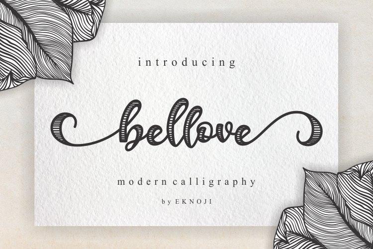 Bellove Font
