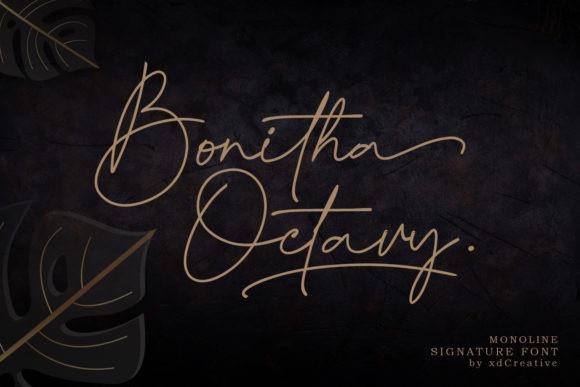 Bonitha Octavy Font