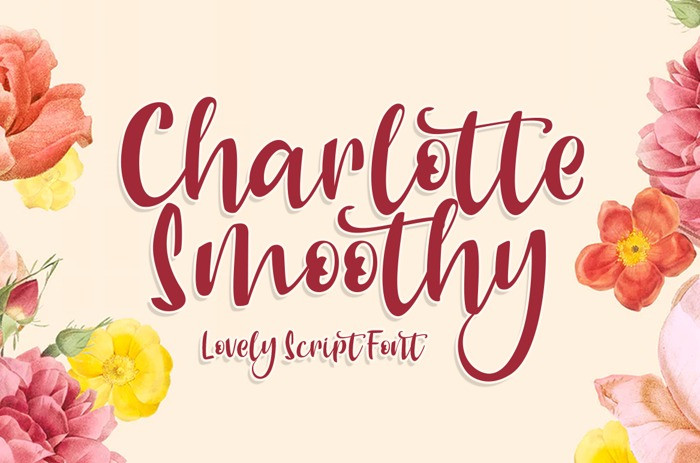Charlotte Smoothy Font