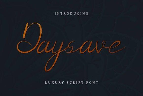 Daysave Font
