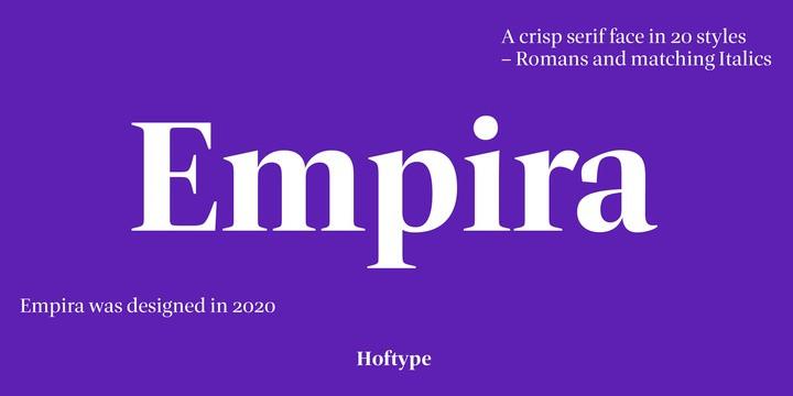 Empira Font