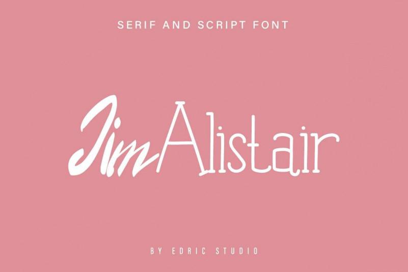 Jim Alistair Font