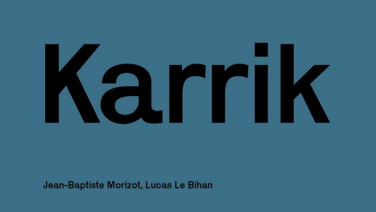 Karrik Font