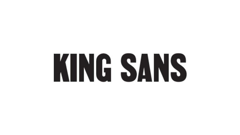 King Sans Font