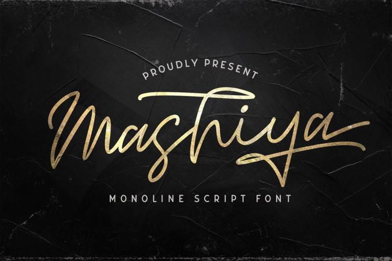 Mashiya Font