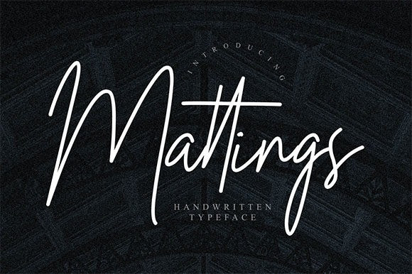 Mattings Font