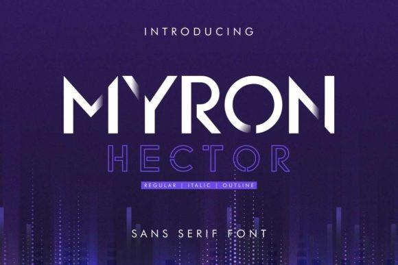 Myron Hector Font