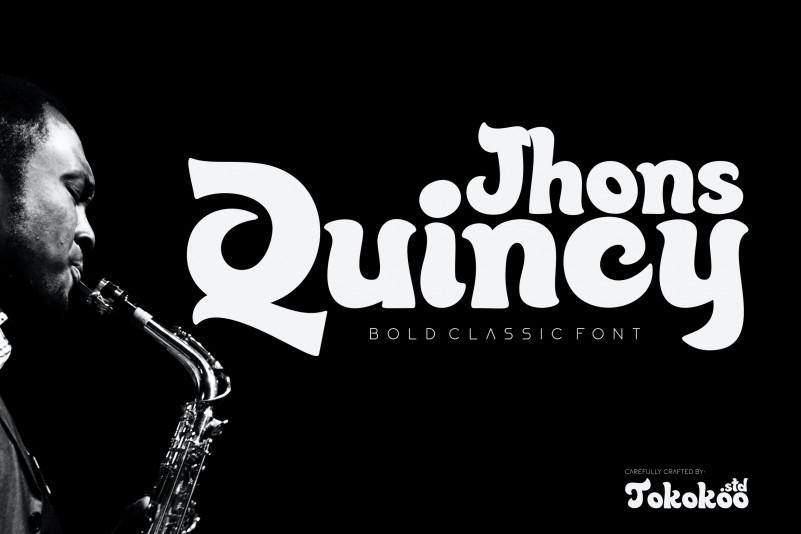 Quincy Jhons Font