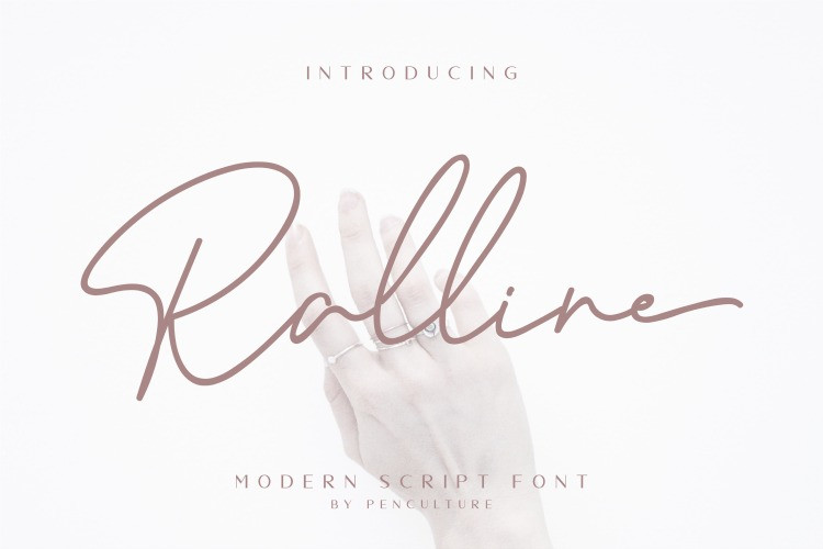 Ralline Font